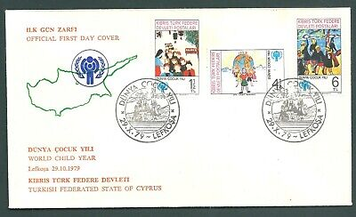CYPRUS 1979 World Child Year First Day Cover