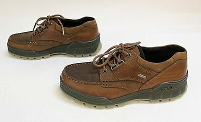 Ecco Men's Track II Low Lace-Up Gore-Tex Sneaker SC4 Brown Size US:8