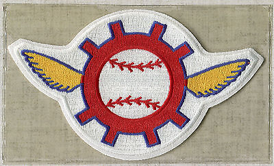 1969 SEATTLE PILOTS OFFICIAL MLB BASEBALL THROWBACK DEFUNCT TEAM PATCH WILLABEE