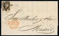 España 6 Carta Coruña A Madrid Septiembre 1851 Con Factura -  - ebay.es