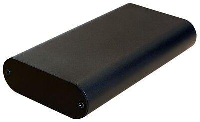 Black Aluminum Project Box Enclosure Case Electronic Diy 130x70x24mmsmall