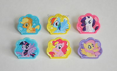 My Little Pony Party Bag Fillers (12 My Little Pony Cup Cake Rings Topper Bday Party Goody Bag Favor Pinata)