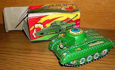 Blechspielzeug Panzer tank in original box MF 074