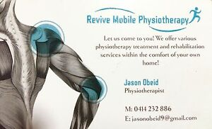 Revive Mobile Physiotherapy - Home Visits Wareemba Canada Bay Area Preview