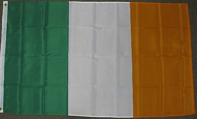 3X5 IRELAND FLAG IRISH PRIDE EIRE ERIN GO BRAGH F484