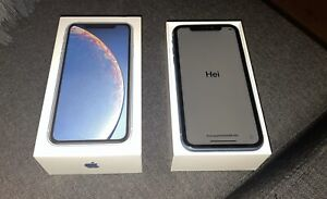 Blue IPHONE XR 64GB for sale