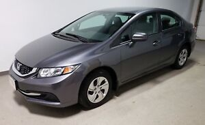 2015 Honda Civic LX | Certified -  Just arrived