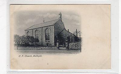 U.F. CHURCH, BATHGATE: West Lothian postcard (C26714)