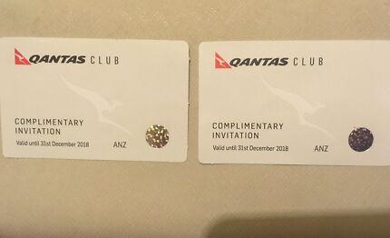 Qantas Club Invitation