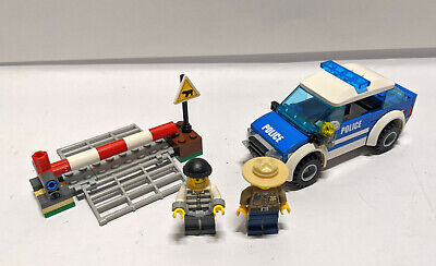 Lego City Police Patrol Car Set 4436 Complete No Instructions