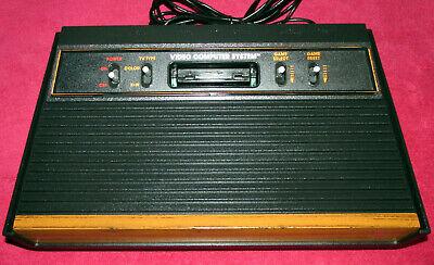 Atari 2600 Operational / Tested Woodgrain Console
