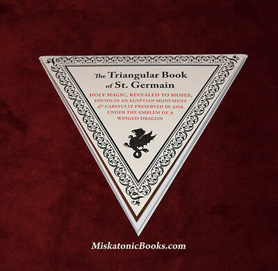 The Triangular Book Of St  Germain  Limited Edition  Alchemy  Ouroboros Press