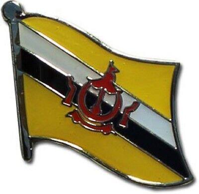 Wholesale Pack of 50 Brunei Country Flag Bike Hat Cap lapel Pin
