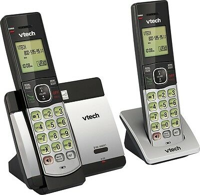 VTech DECT 6.0 Expandable Cordless Phone with Caller ID/Call Waiting CS5119-2