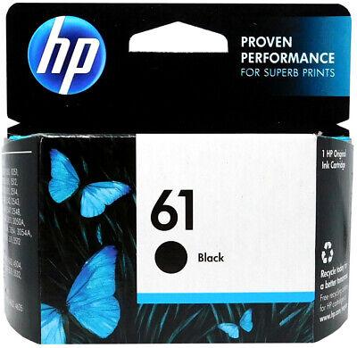 HP #61 Black Ink Cartridge 61 CH561WN NEW GENUINE