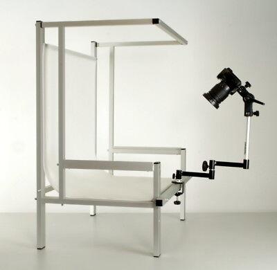 Aufnahmetisch Fototisch Profi Plus Mit Gelenkstativ Für Kameras 1112 Fotostudio-zubehör Foto & Camcorder