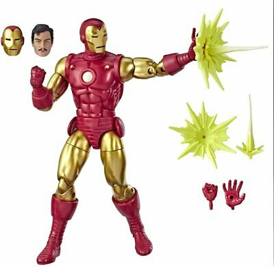 Marvel - Legends Series 80th Anniversary Iron Man - Multi, FreeShip