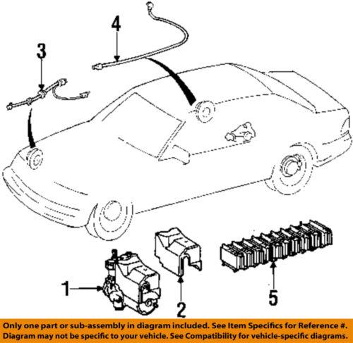 Mercedes mercedes benz oem 94 95 s320 abs wheel speed for Mercedes benz speed sensor location