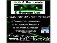 House Removals - commercial relocation - man with van service - storage - waste clearance - licensed
