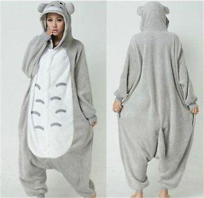 Japanese Adult Kigurumi Animal sleepsuit Pajamas Costume Cosplay Totoro - Adult Totoro Costume