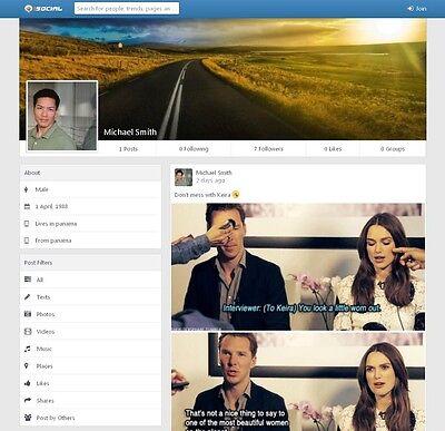 Online Social Network Website Free Hosting