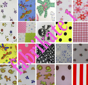 Polycotton-Prints-Craft-Dress-Fabric-SAMPLE-ONLY-FREE-P-P-45-Cols-Available
