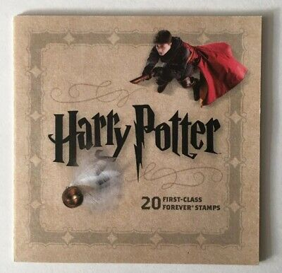 HARRY POTTER Booklet 20 First Class USPS Forever Postage Stamps FREE SHIP