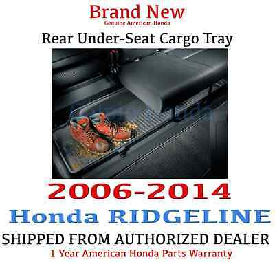 Genuine OEM Honda Ridgeline Rear Under Seat Cargo Tray 06-14 (08U45-SJC-100)