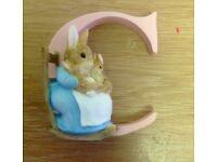 Beatrix Potter Alphabet Letters: Letter C