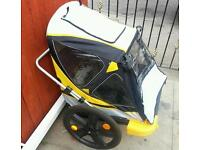 Kids 2seater bike trailer