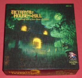 'Betrayal At House On The Hill' Board Game (as new)