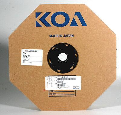 Koa Tape Reel Resistors - 47k 1 Watt - 1000 Resistors On Reel