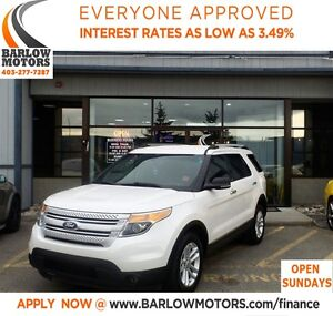 2013 Ford Explorer *EVERYONE APPROVED* APPLY NOW DRIVE NOW.