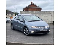 Honda Civic 2.2 ctdi 57 plate , from first owner, 2 Keys, 10 service stamps