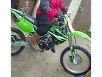 Swap or cash sale . KX 85 Big Wheel . Very tidy bike .