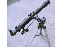 Sky-Watcher Refactor Telescope with Tripod & Eye Pieces (WH_3912)