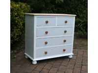 Ducal - Beautiful Solid Pine - Chest of Drawers - 2 Over 3