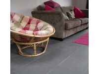 Grey Slate Floor Tiles 60 x 40cm | 17.28m2 | 72 tiles | FREE DELIVERY WORKS OUT £3.88 EACH