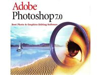 Adobe Photoshop 7 Photo Editing Software For Windows