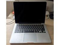 "Macbook Pro 13"" Late 2013; 8GB RAM; 256GB HD; perfect condition"