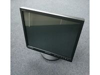 "Samsung 17"" CCTV monitor 2x BNC loops, PiP, S-video, VGA"