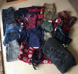 Men's clothes bundle Ralph Lauren, North Face, Jasper Conran.