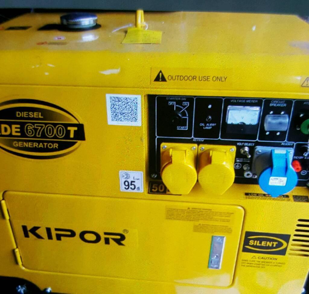 Silent Diesel Generator 5kva in verry good condtion