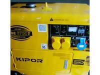 Silent Diesel Generator 5kva in verry good condtion
