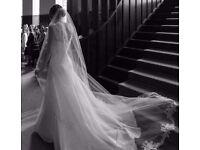 Chapel bridal veil - heading up