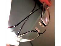 MEN - AIRFLEX - EYES WARE MEMORY METAL PRESCRIPTION FRAME- 50-19-140 - SILVER- IN PRISTINE CONDITION
