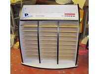 Pigeon hole Heavy duty Shelf unit