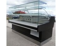 catering equipment / Serve-Over Display Counter (2m) fridge (cake / deli / patisserie)