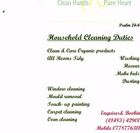 Clean hands Pure Heart
