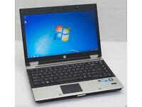"HP EliteBook 14.1""LAPTOP, Intel Core i3 2.40GHz, 4GB, 250GB, WIFI, WEBCAM, BLUETOOTH, DVD, OFFICE"